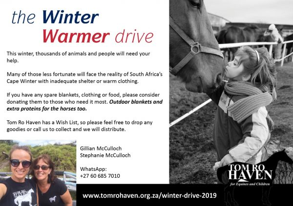 Tom Ro Haven Winter Drive 2019